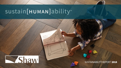 Shaw Industries Simultaneously Focuses on Environmental Health and the Human Experience