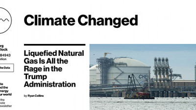New Bloomberg Site Highlights Climate Change's Effects on Financial Markets